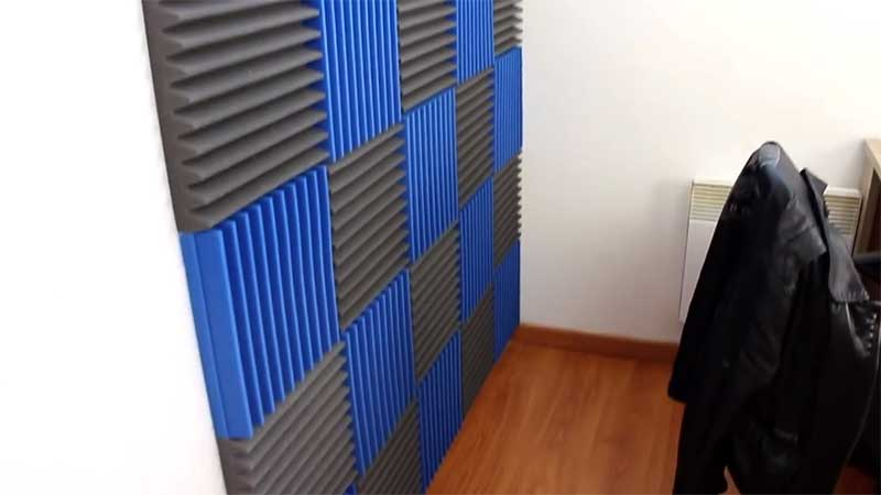 Wedges style acoustic foam