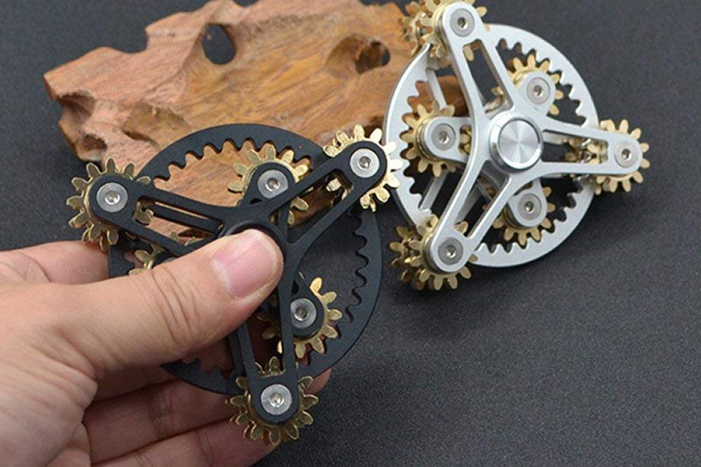 high tech fidget spinner