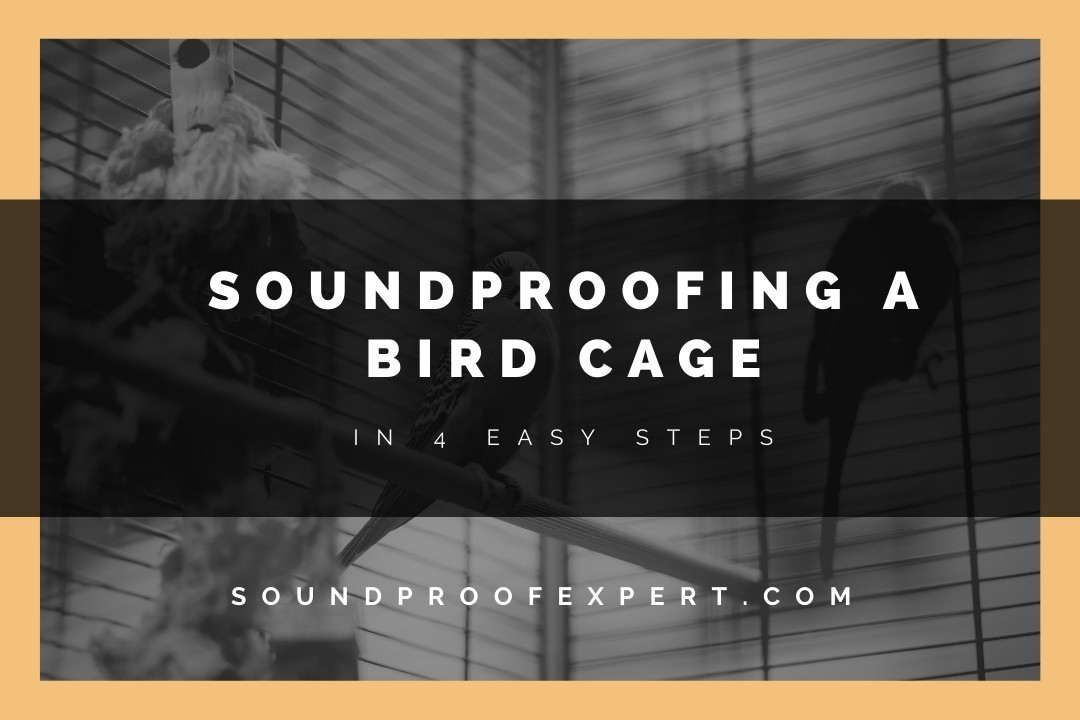 soundproofing a bird cage featured image