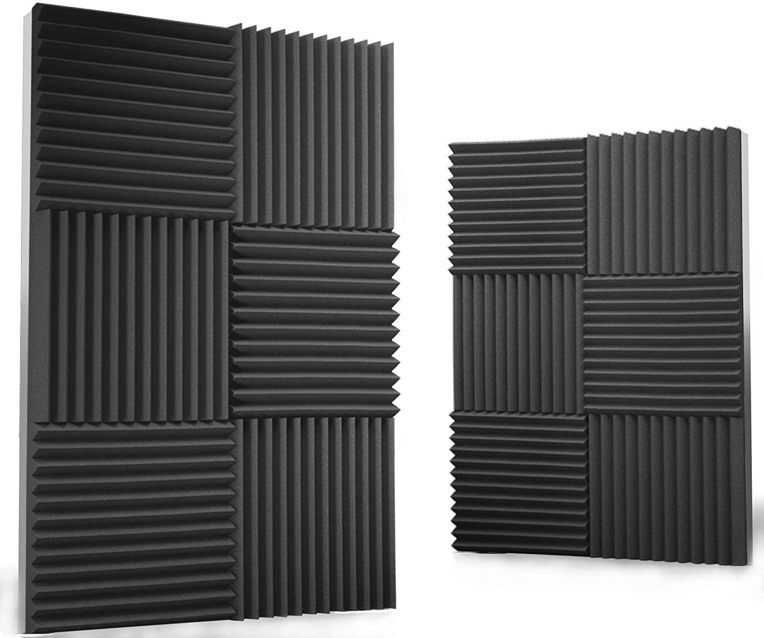 siless wall panels for sound deadening