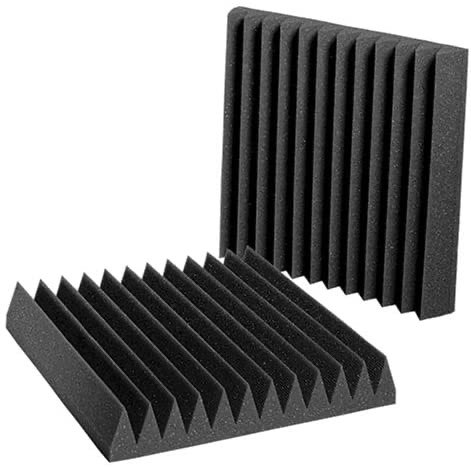 Wall soundproofing panels by auralex