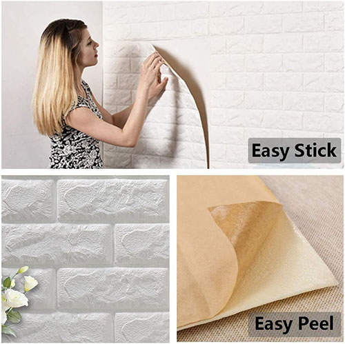 wall mounted brick panel insulation