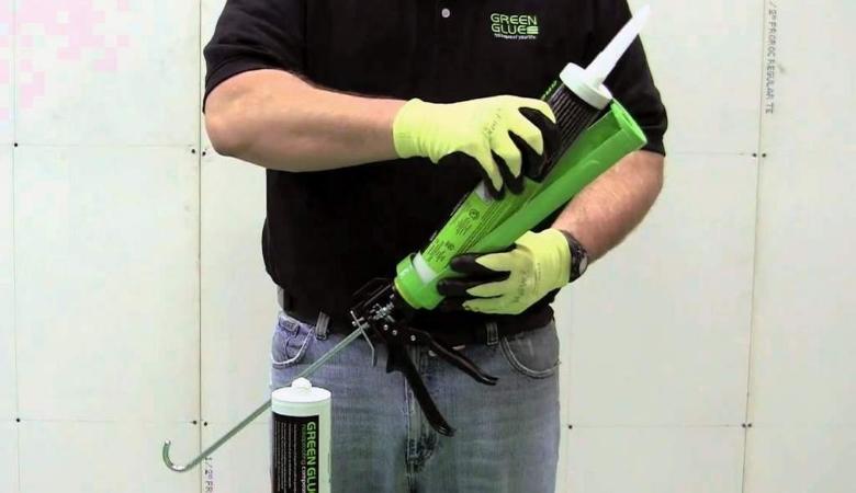 Green Glue Usage