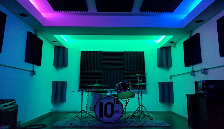 Soundproofed Music Room