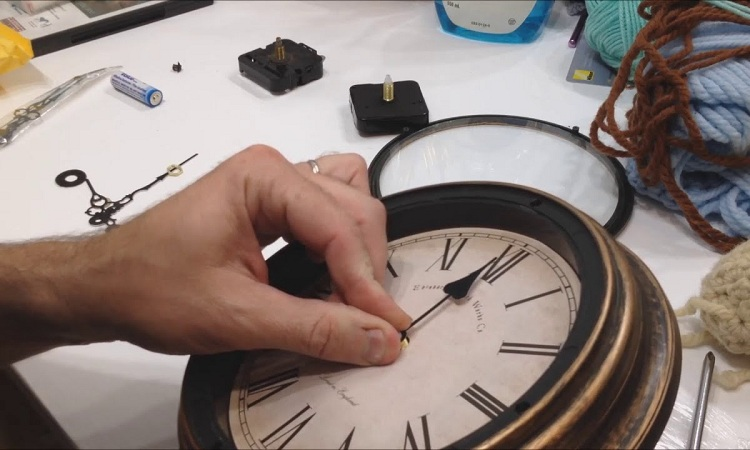 What can be done to silence clock ticking?